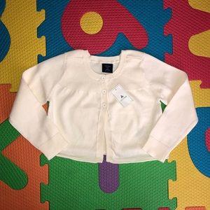 🎀NWT Baby GAP button down cardigan 2T